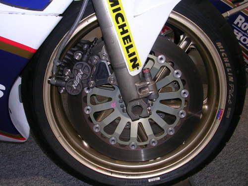 NSR500 ブレーキシステム