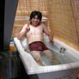 入浴シ~ン。。